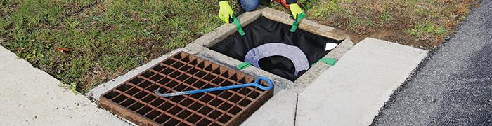 Regenwasser Filtration