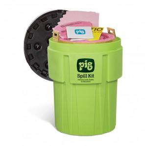 PIG® Spill Kit im 360-L-Signalfarbenbehälter