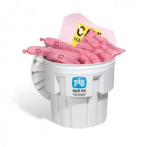 PIG® HazMat Notfall-Kit im 76 L Sicherheitsfass