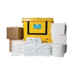 PIG® Essentials Oil-Only-Notfallkit - Rollcontainer mit Klapptür