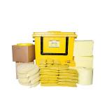 PIG® Essentials Chemie-Notfallkit - Rollcontainer mit Klapptür