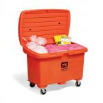 PIG-Notfall-Kits in auffälliger Transportkarre